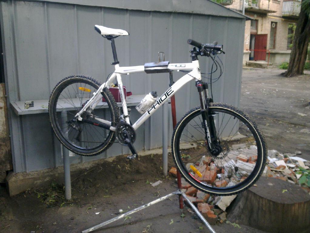 Стенд велосипеда своими руками