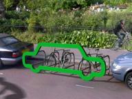 Оригинальная концепция стойки для велосипедов