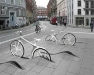 Проект велосипедных станций в Копенгагене