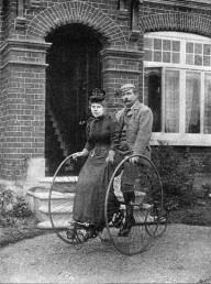 Исторические личности и велосипеды