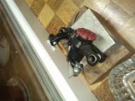 Самодельная щёчка дискового велосипедного тормоза