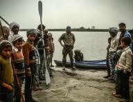 Одиночное плавание по Ганге на байдарке в1000вёрст