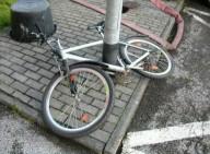Гениальные шутки над велосипедистом 1 апреля