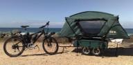 Жилой велосипедный прицеп - дом на колесах