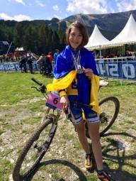 Интервью: Яна Беломоина - велоспорт