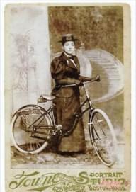 Перша навколосвітня подорож жінки на велосипеді