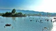 Закарпатское соленое озеро Кунигунда.