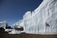 Подъем на тающий ледник Килиманджаро