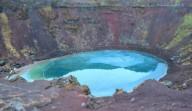 Керид-кратерное озеро в Исландии