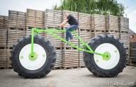 Велосипед весом 860 кг