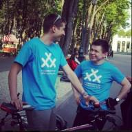 ТелеИнтервью: организаторы 30 дней на велосипеде