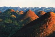 Шоколадные холмы (Филиппины)