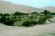 Уакачина-оазис в Перу