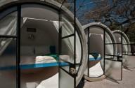 Отель в бетонных трубах-Tubohotel