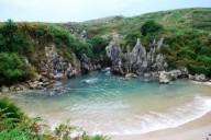 Плайя-де-Гульпиюри пляж-ракушка в городе Льянес