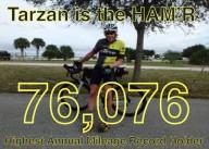 122432 км на велосипеде за один год