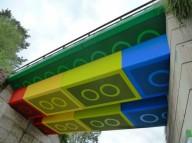 Мост Lego в Германии