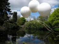 Обезьяний мост на воздушных шарах