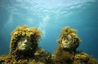 Подводный музей скульптур для коралловых рифов