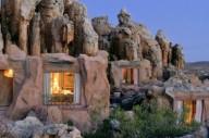 Кагга Камма-отель в скале