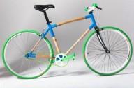 Бамбуковый велосипед ручной работы
