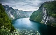 Норвегия - страна водопадов и радуг