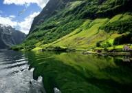Туристическая дорога Согнефьелльсвеген в Норвегии