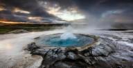 Гейзер Строккюр в Исландии
