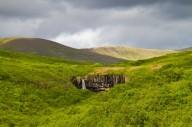 Водопад Свартифосс в Исландии