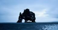 Базальтовая скала Хвитцеркур в Исландии