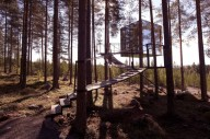 Шведский отель на дереве Treehotel