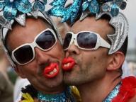 Гей-парад в Кёльне Шестое время года.