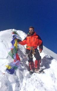 Украинец получил сертификат о восхождении на вершину Манаслу