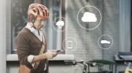 Умный шлем для велосипедистов от компании Volvo