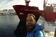 Путешественник посетил 121 страну на контейнерных судах