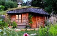 Очаровательный домик в саду для покоя и релакса
