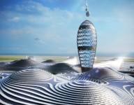 В Японии показали, как будет выглядеть городской космопорт