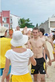 Пляжный чемпионат Украины по алтимат фризби 2011