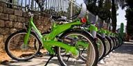 В Тель-Авиве теперь можно взять напрокат велосипед