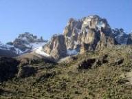 Гора Кения покорилась российским альпинистам