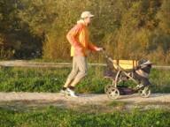 С детской коляской через Альпы