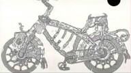 Средневековый велосипед