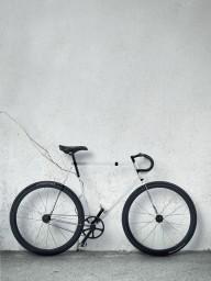Прозрачный велосипед