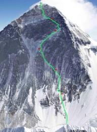 Попытка проложить новый маршрут на Эверест