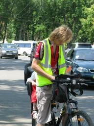 Велосипедистов обяжут носить светоотражающие жилеты?