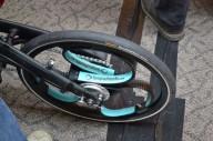 Необычное велосипедное колесо