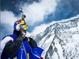 Прыжок с северной стены Эвереста