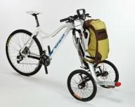Система для перевозки грузов на велосипеде
