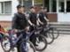 В Луцке появился милицейский велопатруль