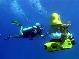 Подводный мотоцикл.